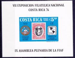 COSTA RICA - 1976 - Bloc 10 - ONGETANDE VERSIE -  Ongebruikt/No-Usado/New/Neuf  ** - Costa Rica