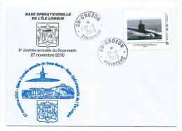 31 TPAM - MARINE NATIONALE - 8ème Journée Du Sous-marin -ÎLE LONGUE 2010 (TIMBRE PERSONNALISE) - Personnalisés (MonTimbraMoi)