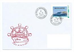 32 TPAM - TIMBRE PERSONNALISE   - BIN EGLANTINE (Marine Nationale) - Personnalisés (MonTimbraMoi)