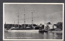 1958 MARIEHAMN POMMERN OCH ÅLANDS SJÖFARTSMUSEUM FP V SEE 2 SCANS TBC STAMP TUBERCOLOSIS - Finlandia