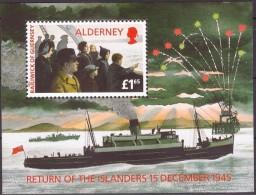 Alderney Aurigny 1995  Yvertn° Bloc 1 *** MNH Cote 8,50 Euro - Alderney