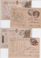 PM N. 21  Del  1918 Ed Altri  Interi Postali Corrispondenza Regio Esercito - Marcophilia