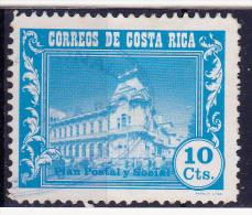COSTA RICA - 1967-SOC.PLAN POSTERIJEN -Y&T Nr(s).281  -gebruikt/Usado/Used/Oblit. ° - Costa Rica