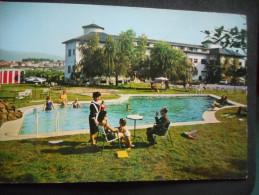 "CPDM - ESPAGNE - FUENTERRABIA ""Hotel GUADALUPE""  - Piscine - Tenues Années 60 - Espagne"