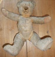 TEDDY - TRES VIEL OURSON EN PAILLE - Teddybären