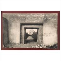 Verdun  Entrée Du Monument De La Tranchée Des Baïonnettes - Verdun