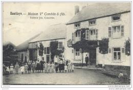 HAUTFAYS ..-- Maison Vve COMBLIN Et FILS . 1907 Vers NAMUR ( Mr Léon GERARD ,1er Lanciers ) . Voir Verso . - Daverdisse