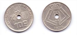 Belgium 10 Centimes 1939 BELGIQUE-BELGIE - 02. 10 Centimes