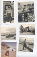 9 PHOTOS ALGERIE MERS EL KEBIR  -RECTO / VERSO-C33 - War, Military