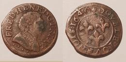 Louis XIII, Double Tournois ??   Lot 129 - Otros – Europa