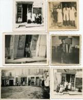VERTEILLAC  6 PHOTOS Roger LABUSSIERE  COIFFEUR ACCORDEONISTE - Altri Comuni