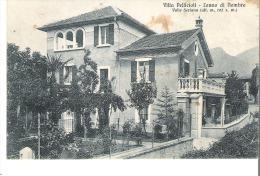 LONNO DI NEMBRO (BERGAMO) - VILLA PELLICIOLI. FP VG 1929 - Bergamo