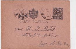 Romania - Iasi - 1895 - Israilteanu - Judaica - Rumania