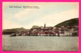 Sud-Amérique - Vue Générale De Victoria - Veduta Generale De Victoria - Colorisée - Cartoline