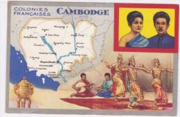 Colonies Françaises - Cambodge - Viêt-Nam