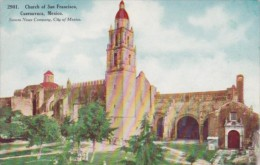 Mexico Cuernavaca Church Of San Francisco
