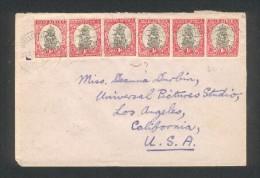 Lettre De Stellenbosch Pour Los Angelès - California - USA - Storia Postale