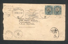 Lettre D ´ Afrique Du Sud (Durban 1940 ) Pour Menphis (Tennessee  USA) Lettre Taxée - Storia Postale