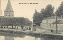 CLAYE SOUILLY RUE DE L'EGLISE 77 - Claye Souilly