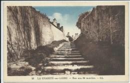 La Charité Sur Loire-Rue Aux 84 Marches - La Charité Sur Loire