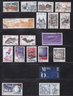 FRANCE 1986 - 1987     OBLITERES  A 15% DU PRIX  CATALOGUE  YVERT - Collections (sans Albums)