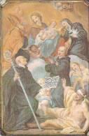 S. Mauro , I Suoi Miracoli, Santino Con Preghiera - Religion & Esotérisme