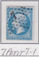 Etoile 7 Petit 7-1 Sur Ceres 22 - 1862 Napoleone III