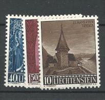 1957 MNH Liechtenstein, Postfris - Liechtenstein