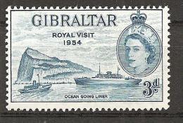 = Gibraltar 1954 - Michel 148 ** = - Gibilterra