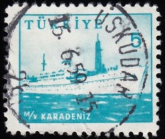 TURKEY - Scott #1443 Karadeniz (*) / Used Stamp - Gebraucht