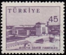 TURKEY - Scott #1450 Sugar Factory, Konya (*) / Used Stamp - 1921-... Repubblica