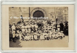 SAINT GEORGES DE DIDONNE - SOCIETE DE GYMNASTIQUE L AVENIR ST GEORGEAIS ET SA FANFARE AINSI QUE ST PIERRE - CARTE PHOTO - Saint-Georges-de-Didonne