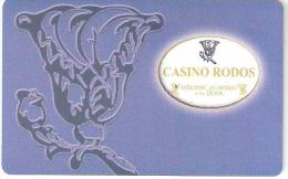 Greece-Casino Rodos - Casinokarten
