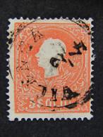 "ITALIA Lombardo Veneto -1859- ""Effigie"" S. 5  2° Tipo US° (descrizione) - Lombardo-Veneto"