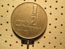 ISRAEL 1/2  Lirah   # 2 - Israel