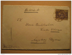 Bydgoszcz To Augsburg Bayern Germany Stamp On Cover Poland Polska - Covers & Documents