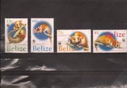 BELIZE Nº 1177 AL 1180 - W.W.F.