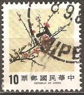 Chine – Formose - 1984 - Prunier - YT 1538 Oblitéré - 1945-... République De Chine