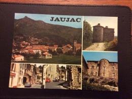 Jaujac Multi Vues Cpm - Andere Gemeenten