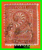 ITALIA -  SELLO   AÑO 1863 - 1861-78 Vittorio Emanuele II