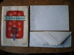 10 Buste Fabriano Lettera Cartiere Miliani_ Carta Da Lettere Collezione - Vieux Papiers