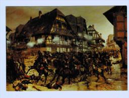 9320   CPM   Bataille De WOERTH / FROESCHWILLER  Du 6 Aout 1870 , Charge Des Cuirassiers De Reichshoffen - Woerth