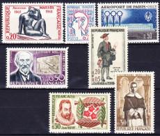 FRANCE 1961 YT N° 1281 à 1287 ** - Francia