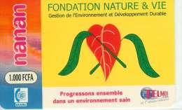 BURKINA FASO RECHARGE GSM FONDATION NATURE ET VIE - Burkina Faso