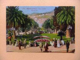 CPA MONTE CARLO Les Jardins - Monte-Carlo