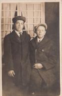 Real Photo - Unidentified Young Men - Jeunes Hommes Non Identifiés - 2 Scans - Postcards