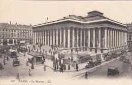 Paris 75 - La Bourse - Stock Exchange - Animates - Très Animée - LL No 919 - 2 Scans - France