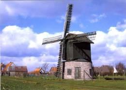 HEULE ~ Kortrijk (W.Vl.) - Molen/moulin - Unieke Vlaszwingelmolen Genaamd Preetjesmolen, Na Restauratie. Zeer Fraai !!! - Kortrijk