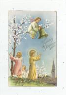 Cp , Anges , Religion , JOYEUSES PÂQUES , écrite , Serie Lux / 2a , Ed : AR N° 228 - Anges