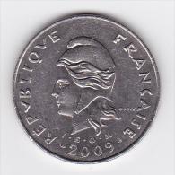 Nouvelle Calédonie - 50 FCFP - 2009 - Papoea-Nieuw-Guinea